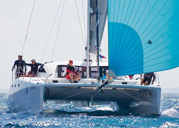 Racing Yachts from Tenrag Yacht Charters