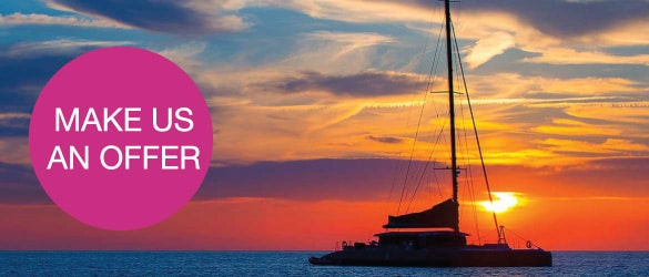 UK based Tenrag Yacht Charter holidays offers